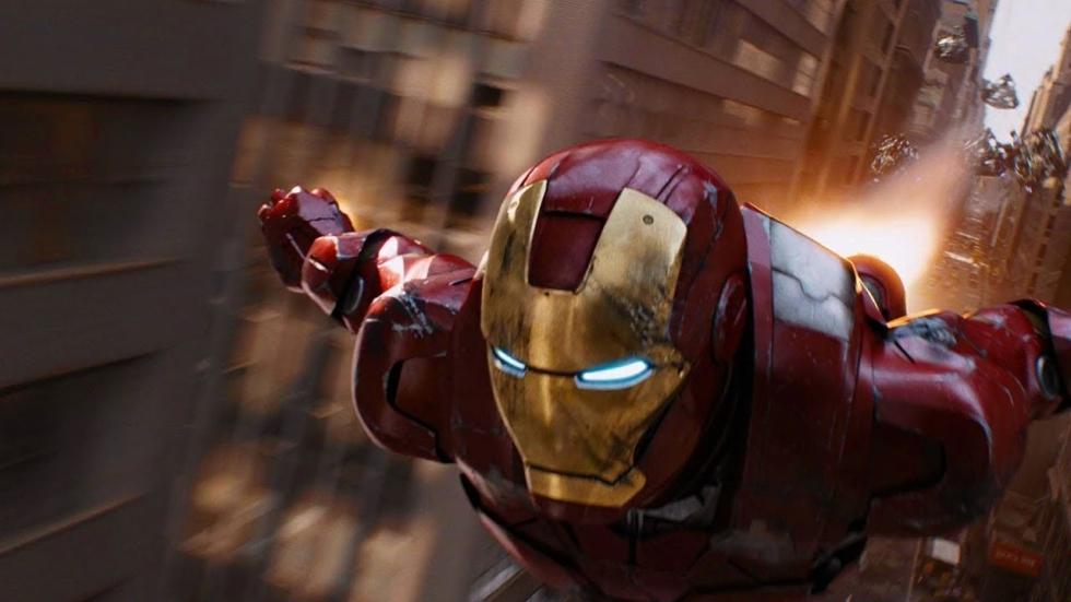 Eerste foto van Robert Downey Jr. als Iron Man
