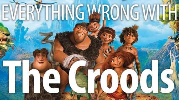 CinemaSins - Everything wrong with the croods in 14 minutes or less