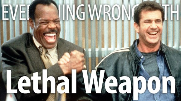 CinemaSins - Everything wrong with lethal weapon in 15 minutes or less