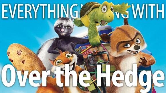 CinemaSins - Everything wrong with over the hedge in 16 minutes or less
