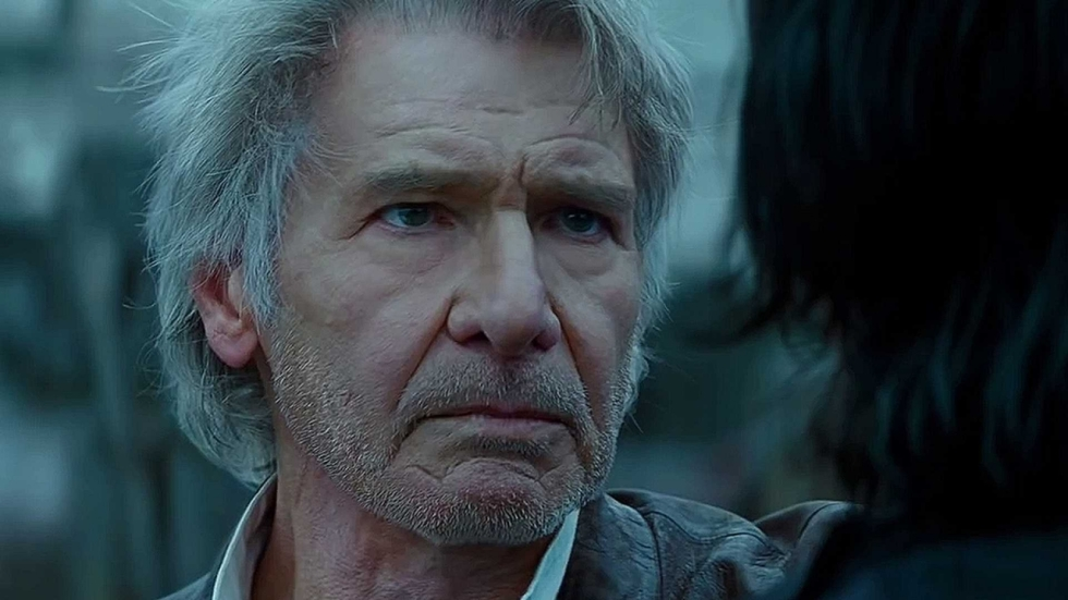 'Star Wars'-uitspraak van Harrison Ford over Force Ghost duikt weer op