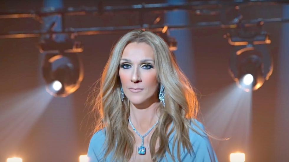 Hongerde graatmagere Celine Dion zichzelf volledig uit?