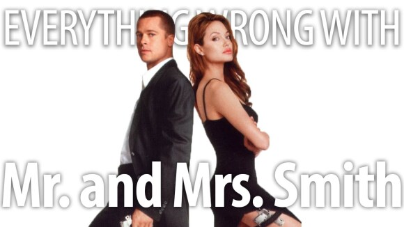 CinemaSins - Everything wrong with mr. and mrs. smith in 18 minutes or less
