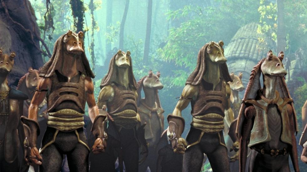 'Star Wars' onthult een dodelijke en bloeddorstige Gungan