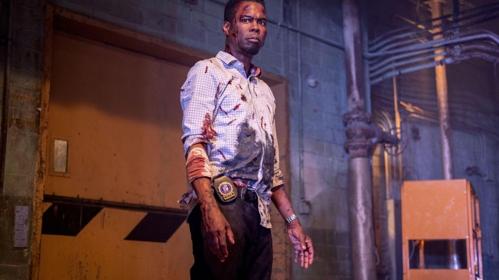 Herkenbare aanwijzing op foto uit de nieuwe 'Saw'-film 'Spiral'
