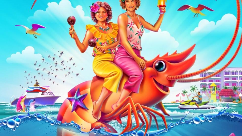 Er gebeuren 'Stranger Things' in trailer 'Barb and Star Go to Vista Del Mar'