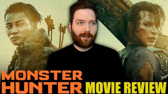 Chris Stuckmann - Monster hunter - movie review