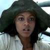 Zoe Saldana tekent voor meer duistere, bloederige piratenfilm