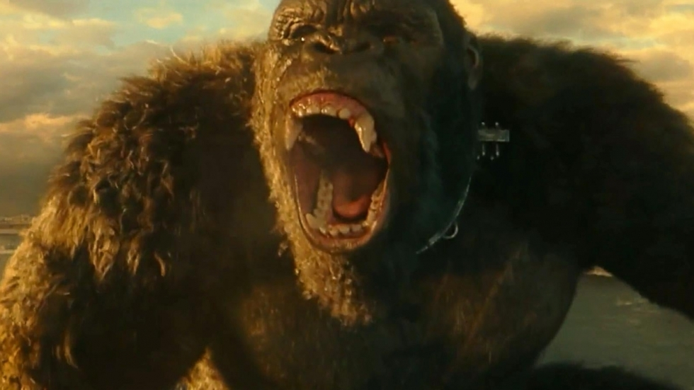Enorme kat én vreemde dansscène in 'Godzilla vs. Kong'