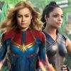 Lesbisch avontuur in aantocht tussen Captain Marvel en Valkyrie