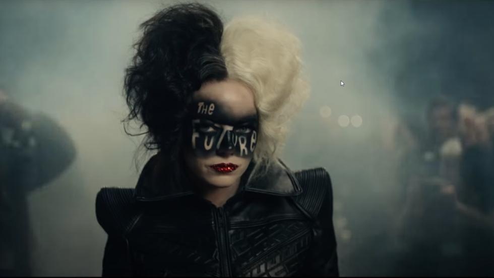 Emma Stone is erg duister in trailer 'Cruella' van Disney