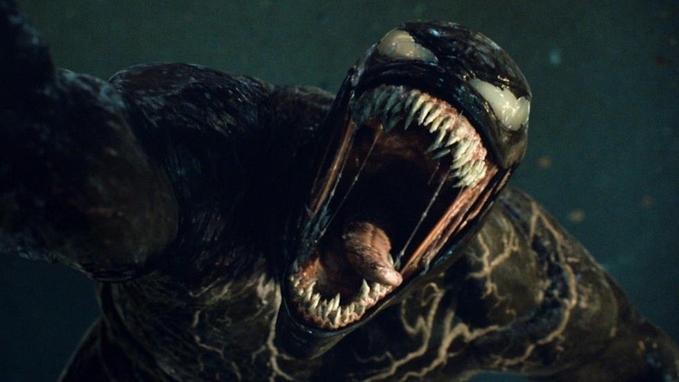 'Venom: Let There Be Carnage'-foto's tonen Carnage en Venom