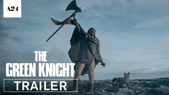 Oogstrelende trailer fantasy-epos 'The Green Knight'