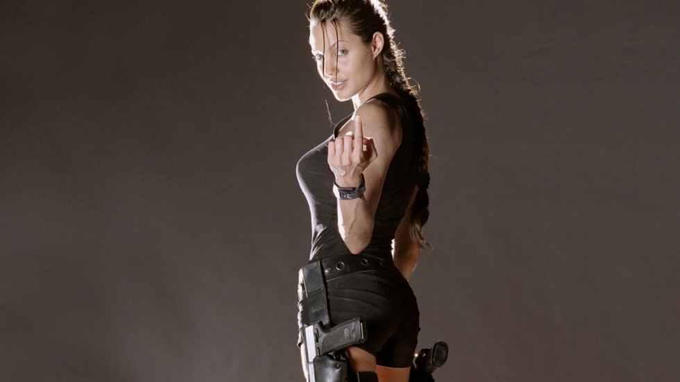 Waarom Angelina Jolie de rol van Lara Croft eigenlijk niet in 'Tomb Raider' wilde spelen