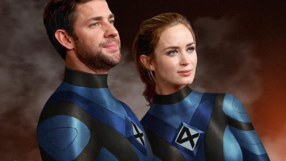 Geïrriteerde Emily Blunt is vragen over 'Fantastic Four' spuugzat