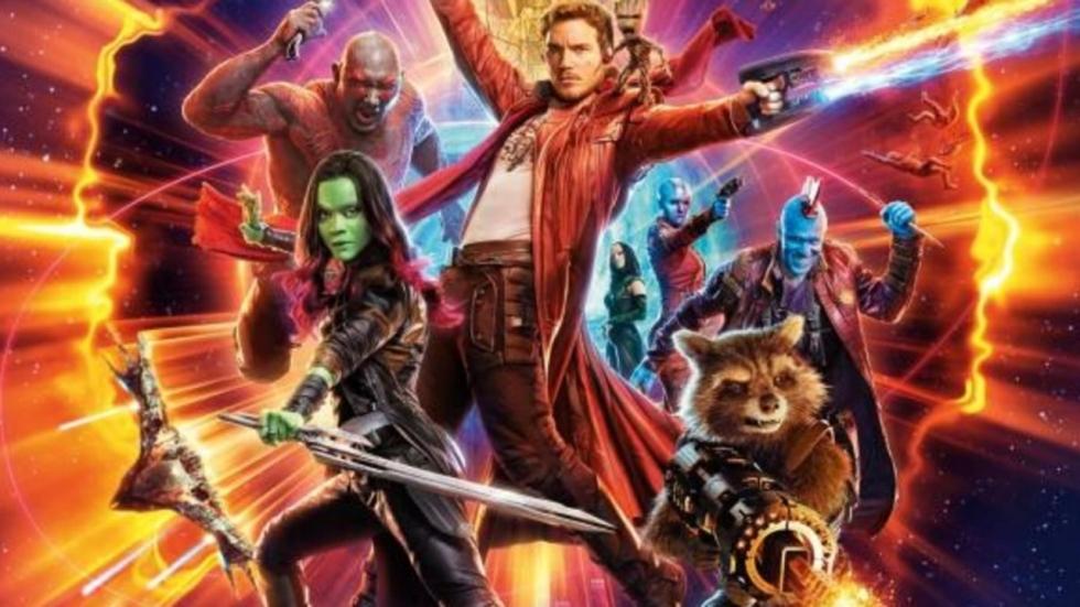 'Guardians of the Galaxy Vol. 3'-throwback foto van Zoe Saldana