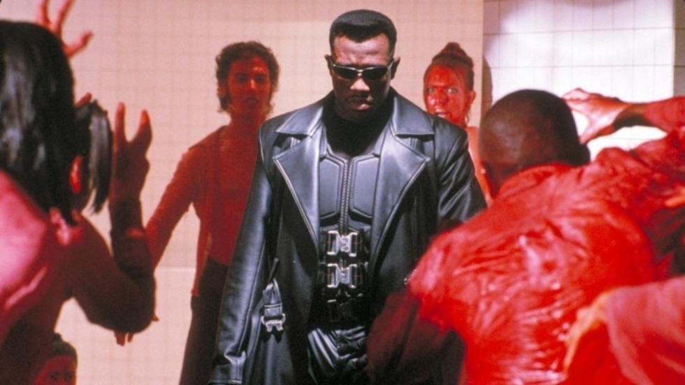 Wurgde Wesley Snipes zijn regisseur op de set van 'Blade Trinity'?