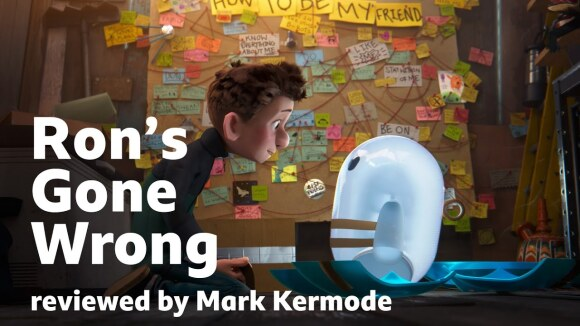 Kremode and Mayo - Ron's gone wrong reviewed by mark kermode
