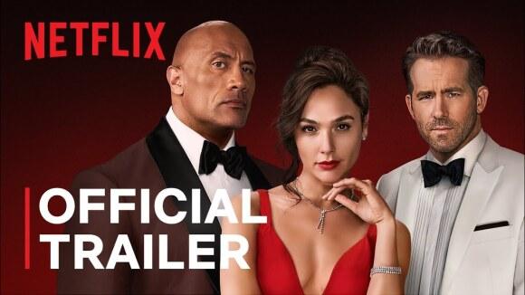 Trailer 'Red Notice' - de duurste Netflix-film ooit